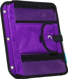 Case-it Locker Accessory 5-Tab File, Purple, ACC-21-PUR-18