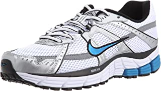 Nike Womens Shox Turbo 9+ Running Shoe 366423-141 White/Grey/Blue