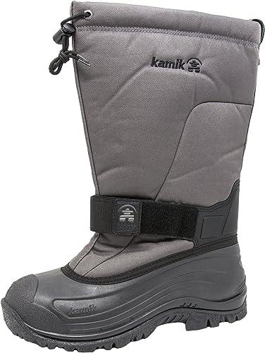 Kamik Men's verdebay 4 Cold Weather botas (11 D(M) US, Charcoal)