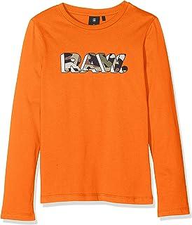 G-STAR RAW Sp10045 LS tee Camiseta de Manga Larga para Niños