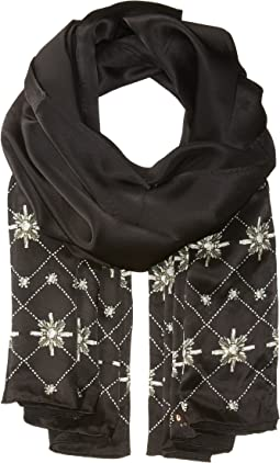 Ted Baker - Embellished Hot Fix Long Scarf