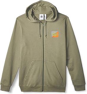 adidas Men's Diag Emb Fz Sweatshirt
