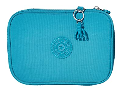 Kipling 100 Pens Case (Turquoise Sea) Travel Pouch