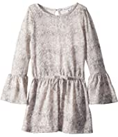 Splendid Littles - Python Print Loose Knit Dress (Toddler)