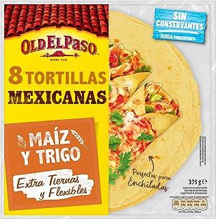Old El Paso - Tortilla de Maíz y Trigo - 335g