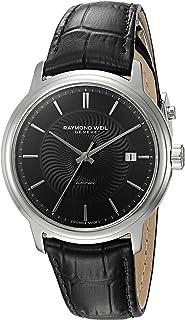 Raymond Weil - Reloj Analógico para Hombre de Automático con Correa en Cuero 2237-STC-20001