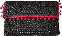 San Diego Hat Company - BSB1703 Rectangular Paper Crochet Clutch