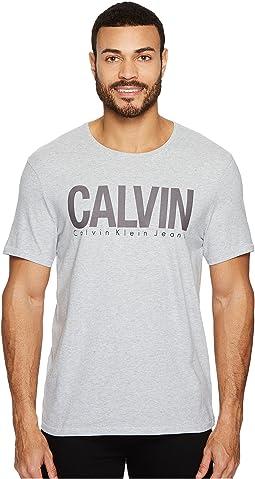 Calvin Klein Jeans - Template Logo Crew Neck Tee