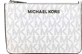 Michael Kors Jet Set Travel Small Top Zip Coin Pouch ID Card Case Wallet