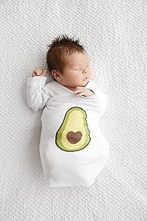 Let's Avocuddle Avocado Swaddle Blanket