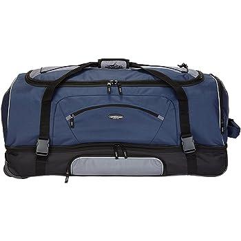 "Travelers Club 36"" ADVENTURE Travel Rolling Duffle Bag, Blue"