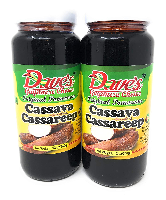 Daves Guyanese Choice Original Pomeroon 3 Cassava Max Time sale 57% OFF Cassareep 12oz