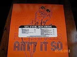 Ray Charles Aint It So (Vinyl Record)