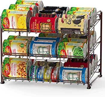Simple Houseware SHW Stackable Can Rack