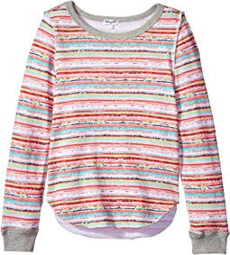 Splendid Littles - Striped Print Sweater (Big Kids)