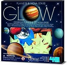 4M Glow Planets & Nova Stars - Astronomy Space STEM Toys Gift Room Décor for Kids & Teens, Boys & Girls
