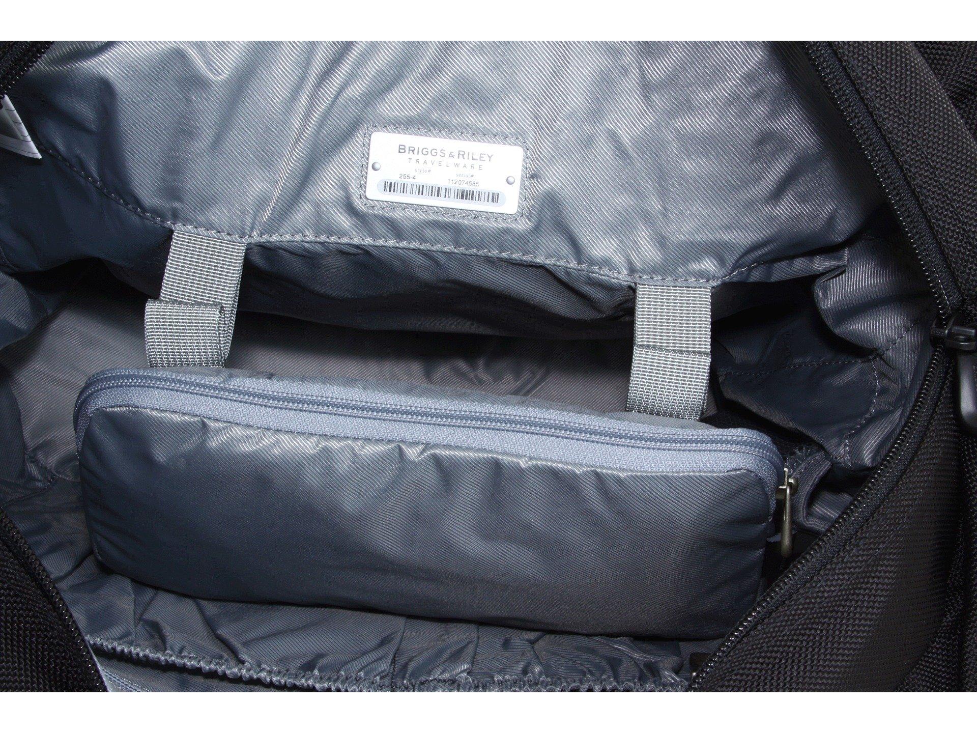 Briggs Riley amp; Large Shopping Bag Tote Baseline Black OOqrwxB4