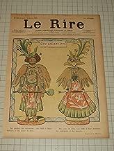 1897 Le Rire Color Lithograph By Lucien Metivet