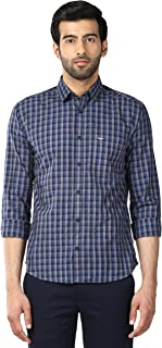 Park Avenue Blue Slim Fit Shirt