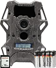 Wildgame Innovations Cloak Pro 12 Invisible Flash with Batteries & SD Card, Tru Bark Camo