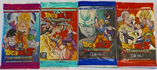 4 Packs Dragon Ball Z Vengeance 2016 Trading Cards Pack bundle [12 cards per pack]