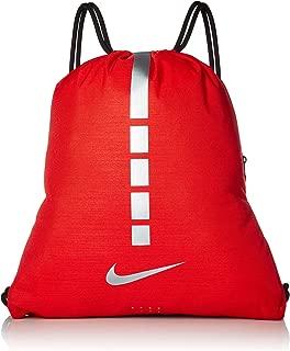 Nike Hoops Elite Basketball Gym Sack - Red/Grey