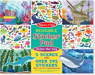 Melissa & Doug Reusable Sticker Activity Pad - Under The Sea