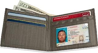 Slim Leather ID Wallet - Brown