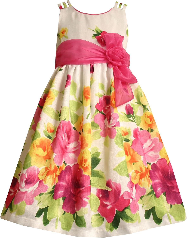 Bonnie Jean Little Girls' Triple Strap Shantung Dress