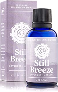 Woolzies 100% Pure & Natural Still Breeze Essential oil Blend 1 Fl Oz | Lavender & Jasmine Therapeutic Grade Oil Blend | Use with Wool Dryer Balls or Oil Diffuser