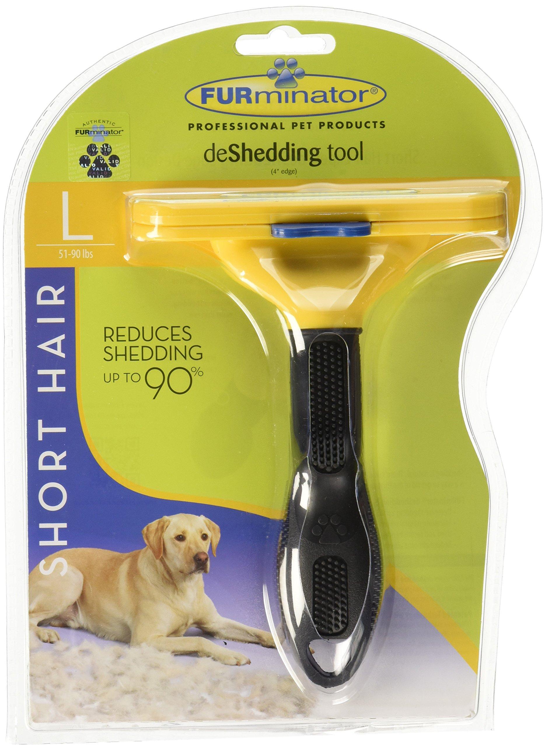 Furminator Deshedding Brush Comb Tool For Short Hair Large Dogs Amazon Com Au Pet Supplies