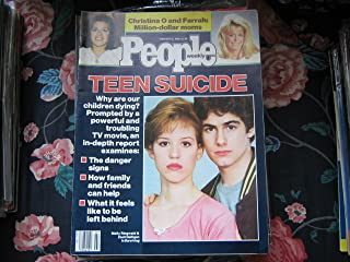 People Weekly (TEEN SUICIDE...MOLLY RINGPOLD & ZACH GALLIGAN...SURVIVING, February 18 , 1985)
