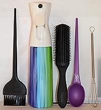 Hairway to Heaven Sprayer, Hair Color Brush, Color Spoon, Black Brush, Stirrer Set