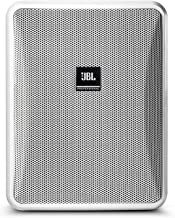 JBL Professional Control 25-1 Compact Indoor/Outdoor Background/Foreground Speaker, White (Sold as Pair) (Control 25-1-Wt)