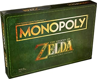 Monopoly B2860 Legend of Zelda Collectors Edition Board Game Ages 8 & Up, Brown/A