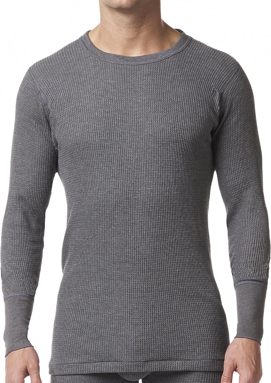 Stanfields Mens Waffle Knit Baselayer Long Sleeve Shirt