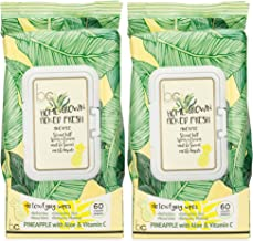 beauty concepts detoxifying wipes pineapple