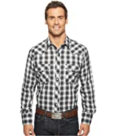 Roper - 921 Silver Mine Plaid with Silver Lurex