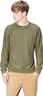 Amazon Brand - find. Men's Textured Crew Neck Sweatshirt