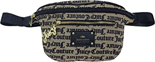 Juicy Couture Heartbreaker Belt Bag Beige/Black Gothic One Size