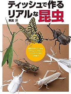 ティッシュで作るリアルな昆虫 基本のカナブンからカブトムシ、アゲハ、トノサマバッタの工作まで