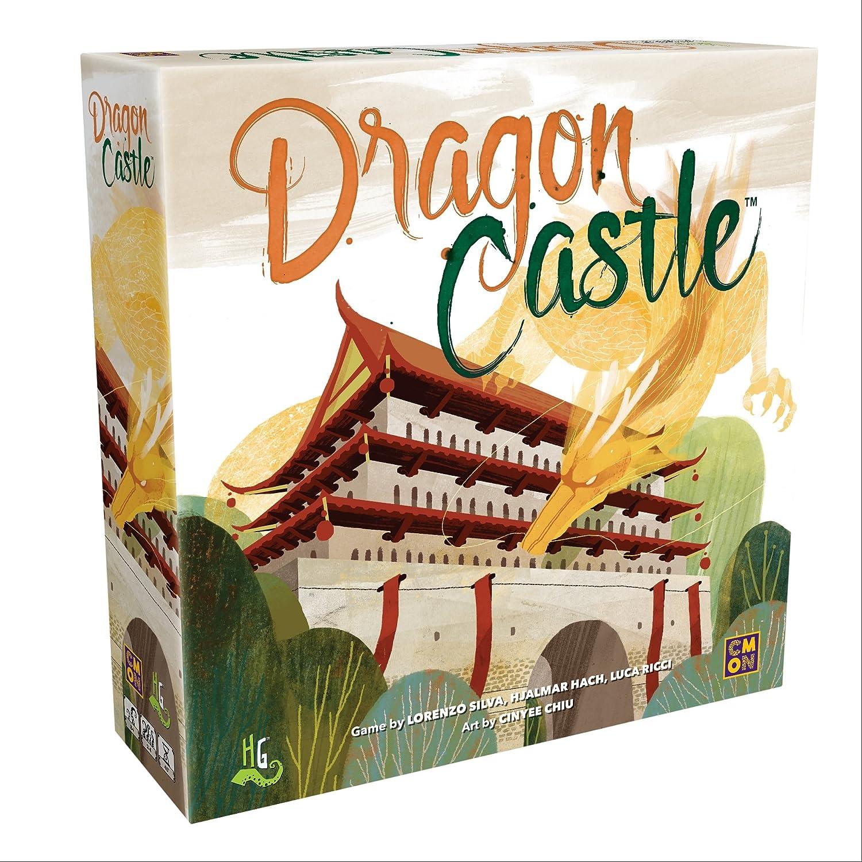 Asmodee CMNDRC001 Dragon Castle, Multicoloured