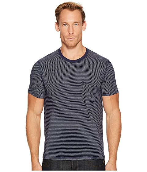 49eec1d01e 7 For All Mankind Short Sleeve Stripe Ringer Tee at 6pm