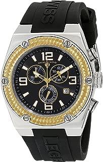 Men's 30025-01-GB Throttle Chronograph Black Dial Watch