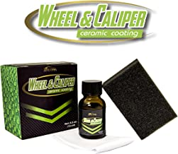 Gold Label Detailing Wheel and Caliper 5 Year Ceramic Coating 15ml | 9H Hardness | Long Lasting | Scratch Protection | Hydrophobic | Repel Brake Dust | UV Resistance