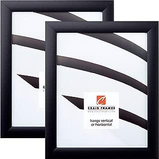 Craig Frames 1WB3BK 24 x 36 Inch Picture Frame, Black, Set of 2