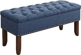 Amazon.com: Blue - Storage Benches / Entryway Furniture: Home & Kitchen