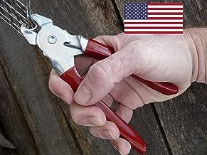 Professional quality Hog ring pliers USA MADE