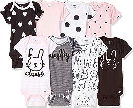 Best Gerber baby-girls 8 Pack Short Sleeve Onesies Bodysuits Review