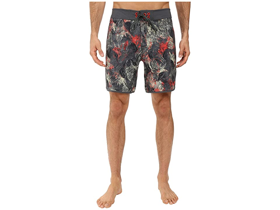 The North Face Whitecap Boardshorts Short (Spruce Green Pineapple Print (Prior Season)) Men